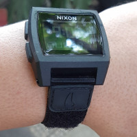 Original Jam tangan Nixon KISS Base Tide Nylon All Black