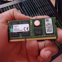 Ram laptop ddr3 8GB KINGSTON 1.5 volt pc12800 1600mhz