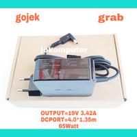 Adaptor Charger Laptop Asus A456UR A456U A456 19V 3.42A jek kecil - Hitam