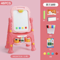 Whiteboard from kids sketchpad / papan tulis standing anak