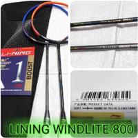 Raket Badminton lining windlite 800 original