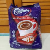 cadbury hot chocolate drink 3in1 / minuman coklat