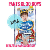 Mamypoko Pants Royal Soft Extra Soft Extrasoft XL 30 BOYS Mamy Poko