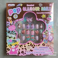 Mainan Kuku Hias Anak Pop Glamour Cat Nails Hot Focus