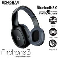 Headset bluetooth sonic gear airphone 3