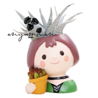 Pot Tanaman Kaktus/Succulent Mini/Planter Flowerpot - Mathilda