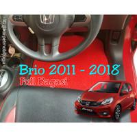 Karpet mie mobil Honda Brio Full sampai BAGASI
