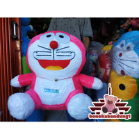 boneka doraemon jumbo warna pink limited edition