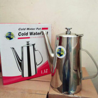 teko sinda Cold Water pot stainless steel