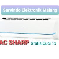 ac sharp 1/2 pk AHA5SAY garansi 10th