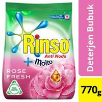 Rinso Molto Rose Fresh Deterjen Bubuk 770g