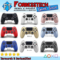 Stick Stik PS4 Wireless Original Pabrik Light Bar OP + Kabel USB - Hitam, TANPA PACK