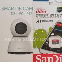 BARDI Smart IP Cam Indoor PTZ 1080p 360° View + Memory Sandisk 64GB