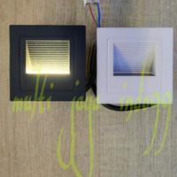 LAMPU TANGGA 3WAT 3W 220V OUTDOOR -INDOOR /LED INWALL 3WAT