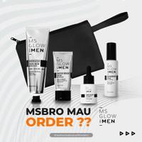 MS Glow For Men / MS Glow Men PAKET KOMPLIT