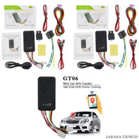 GLOBAL SMALLEST SMART GPS TRACKER GT06 - GSM GPRS RELAY SADAP CAR