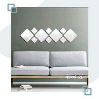 Cermin Dekorasi - Set Isi 7pcs