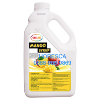 Mango Concentrate & Juice Syrup Gee Zie 2.5 Kg