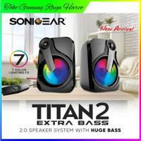 Speaker sonic gear titan 2