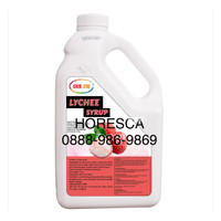 Lychee Concentrate & Juice Syrup Gee Zie 2.5 Kg