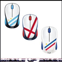 Mouse Wireless Logitech M238 Motif Bendera