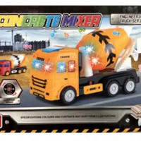 Truk mulen baterai - concrete mixer Engineering series