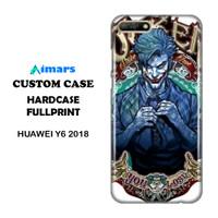 Custom Case Huawei Y6 2018 Hardcase Desain Bebas