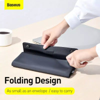 Baseus Laptop Sleeve Case Bag Foldable 2in1 Multifunction For Mac iPad - 13 inch