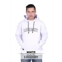 HOODIE / SWEATER ORIGINAL LOODSHT (KODE SHT1) WHITE
