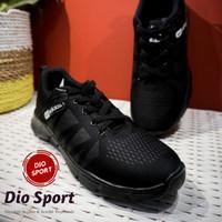 Sepatu Adidas neo main dan sekolah Pria wanita import full black