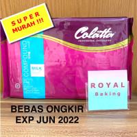 colatta milk chocolate compound 1 kg