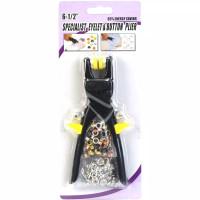 Eyelet & Button Pliers - Tang Press Kancing Snap/Rivet/Mata Ayam