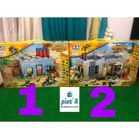 Mainan edukatif brick block pubg BESAR banyak aksesoris ada 2 pilihan