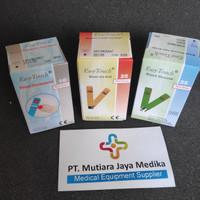 Paket Easy Touch 3in1 Stick Stik Strip Gula darah Kolesterol Asam urat