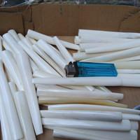 13 cm Pipa Once Tanduk Bule | Cigarette Pipe Cangklong Tulang Tanduk - Tulang Putih