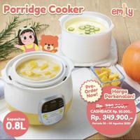 emily porridge cooker 0 8l