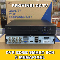 DVR EDGE 8 CHANNEL 5MP FULL HD 2560P 6 IN 1 / SMART DVR EDGE
