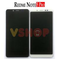 Lcd Touchscreen Xiaomi Redmi Note 5 Pro Redmi Note 5 Black - Hitam