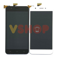 Lcd Touchscreen Oppo A39 Black White - Hitam