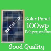 Solar Panel Solar Cell Panel Surya 100wp Pollycrystallin