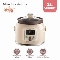 emily slow cooker 2l