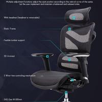 Ergonomic Mesh Chair Kursi Kerja Ergonomis Kantor Gaming Warranty