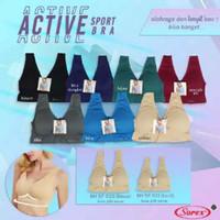 SOREX Sport Bra Stretch SP 021 Busa Tipis Tanpa Kawat Size KECIL