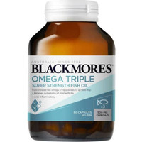 Blackmores omega triple super strength fish oil 60 tablet