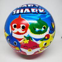 Mainan bola karet /(SNI) bola karet karakter baby shark