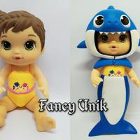 Boneka Mainan Anak Baby Alive Baby Shark - Biru
