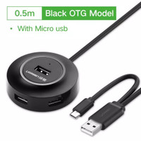Ugreen Usb Hub 2.0 With Cable 100cm Ugreen Usb 2.0 Hub Splitter 4 Port