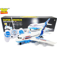 RC AEROBUS - Mainan Anak Cowok Remote Control Pesawat Terbang Airbus