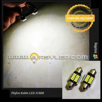 Lampu Led Plafon Kabin mobil 12 Titik SMD 4014 31 36 39 41 mm ARSYLED
