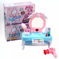 Mainan meja rias anak balita bayi Little Pony LOL surprise Dream dress